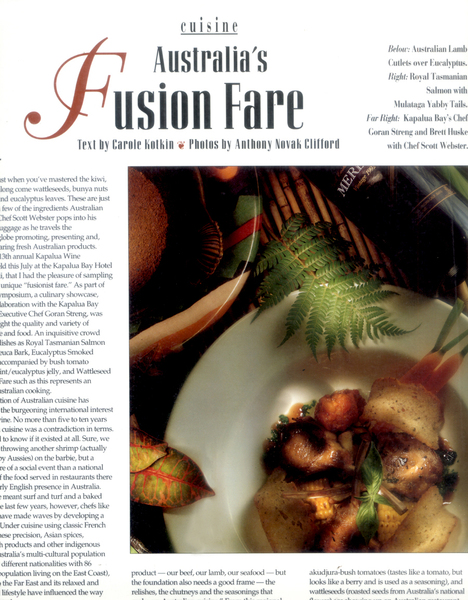 Editorial Photography, Food Photography , Commercial Photography - The Wine News Magazine